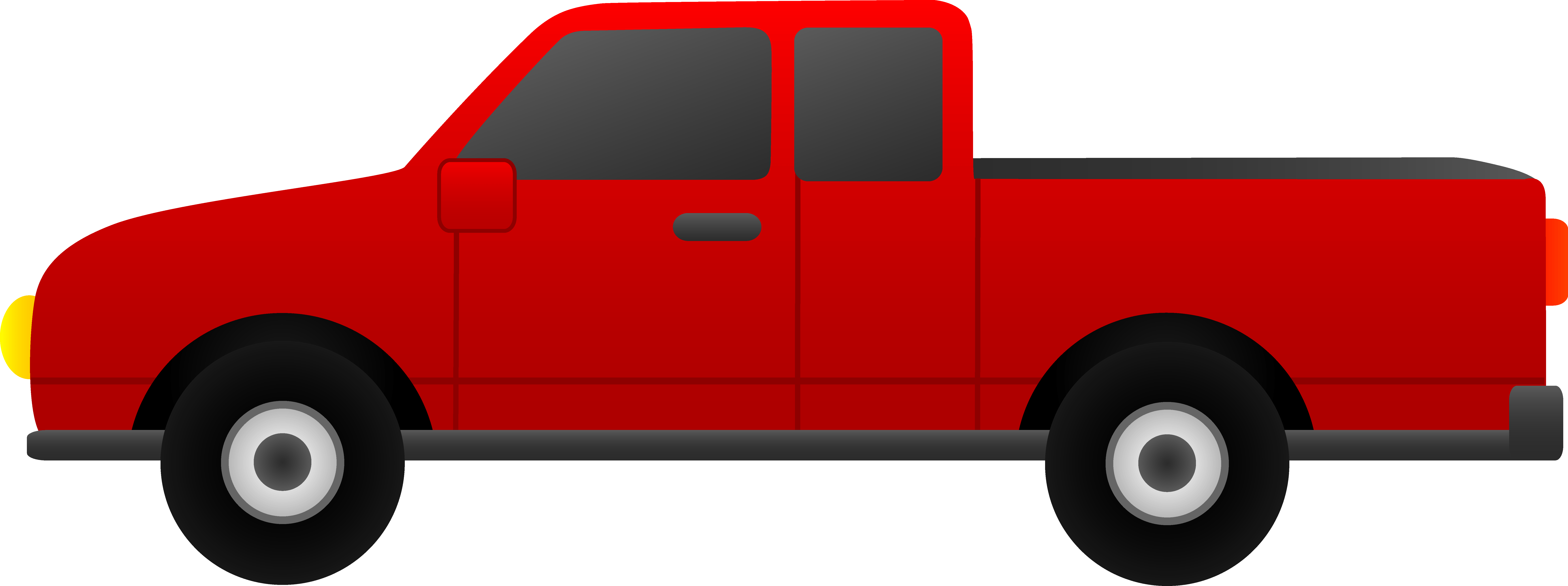 Red Truck Cliparts.