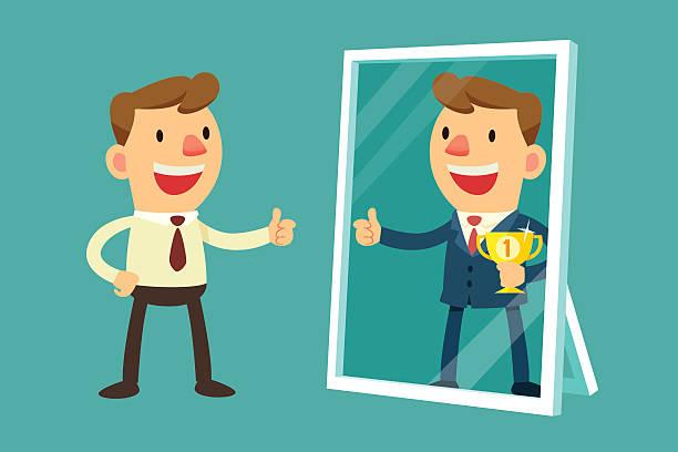 Best Mirror Reflection Illustrations, Royalty.