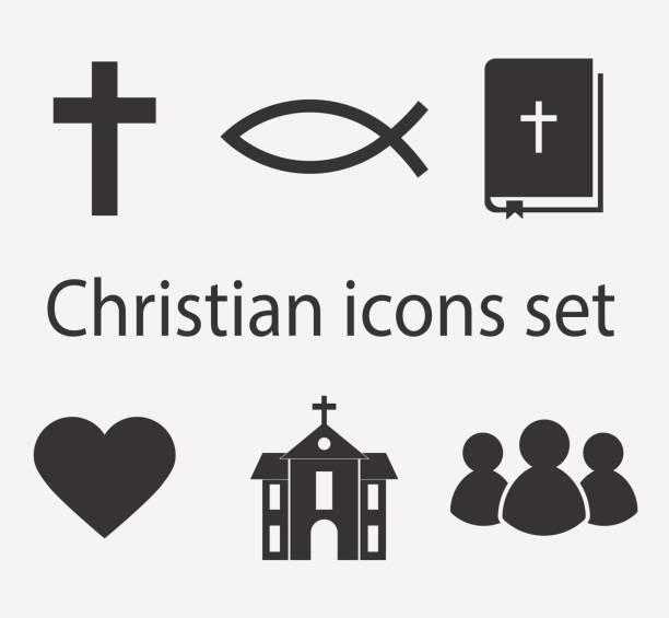 Best Christian Symbols Illustrations, Royalty.