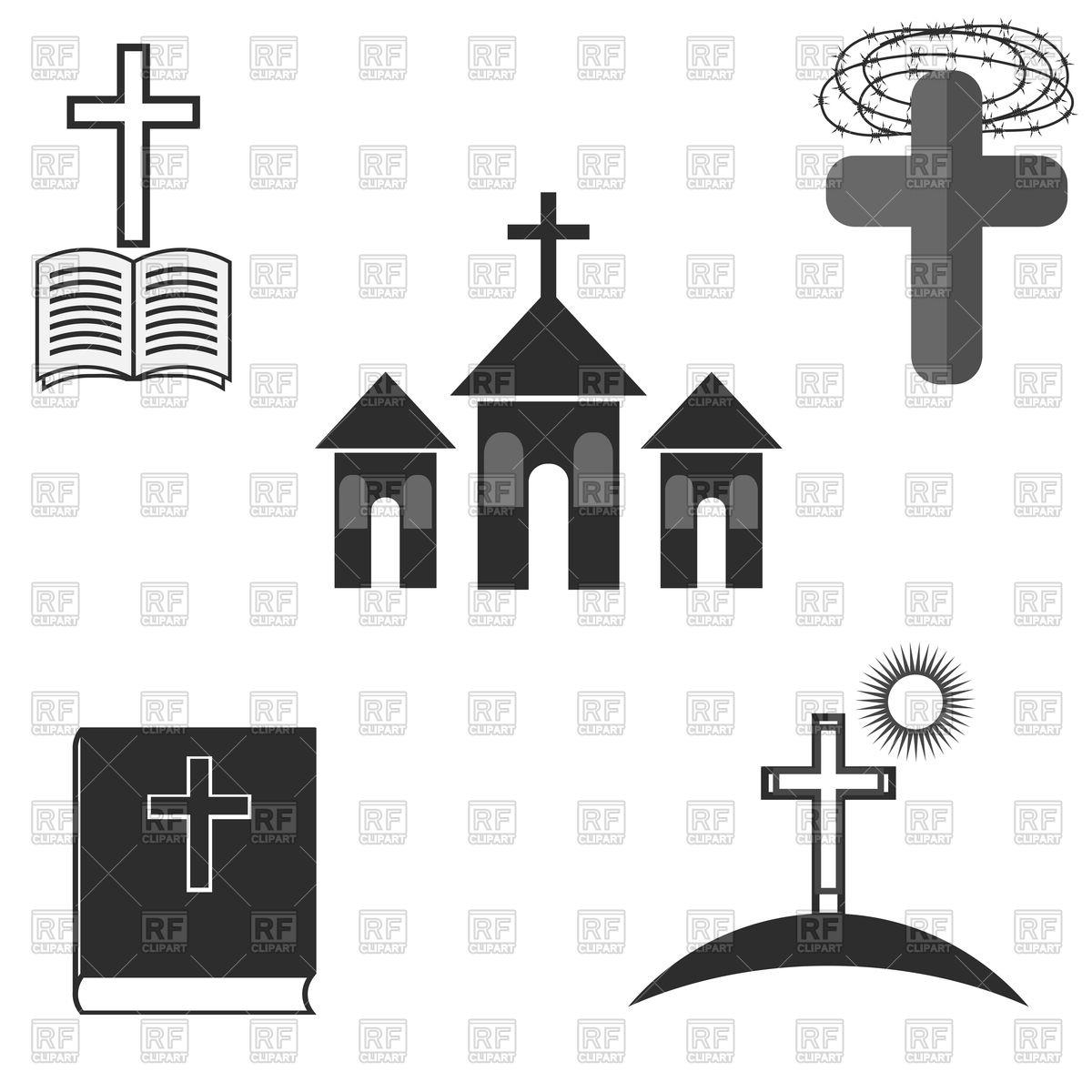 Symbols of Christianity.