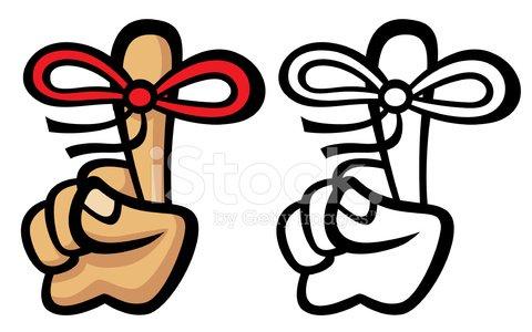 Clip Art Remember Bow premium clipart.