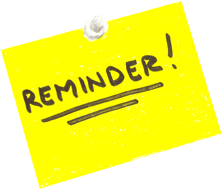 Download Free png Meeting Reminder Clipart.