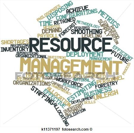 for Resource management.