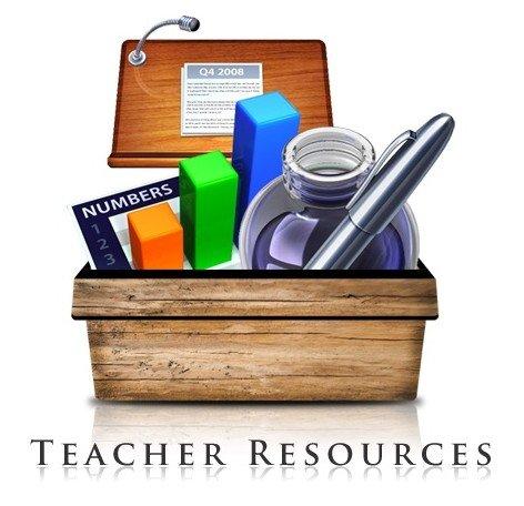 Teacher Resources Clipart.