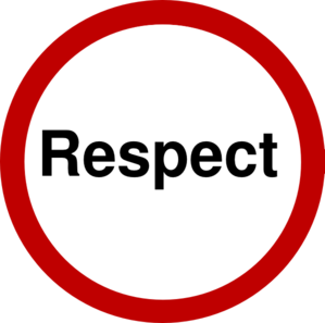 Respect Clip Art at Clker.com.
