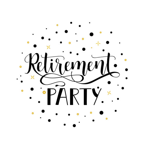 Best Retirement Party Illustrations, Royalty.
