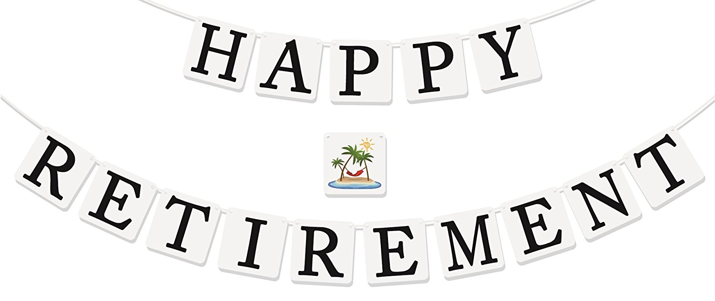Happy Retirement Clipart.
