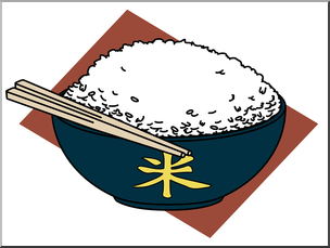 Clip Art: Rice Color I abcteach.com.