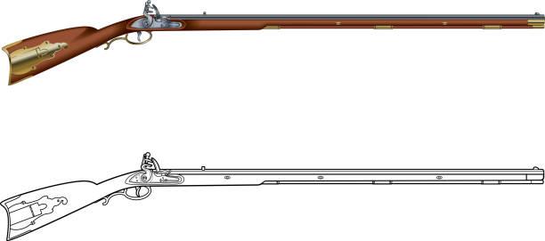 Best Rifle Illustrations, Royalty.