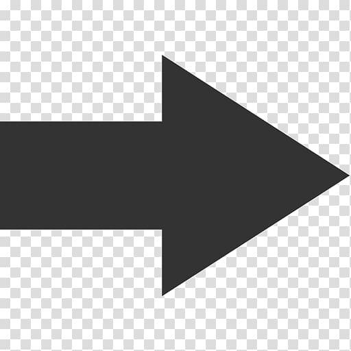 Right arrow , Computer Icons Arrow , Arrow Icon transparent.