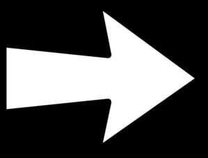 White Right Arrow Clip Art at Clker.com.