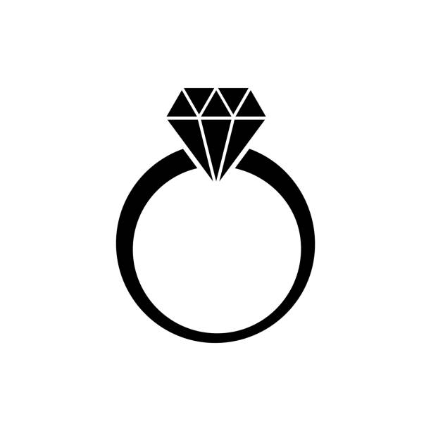 Best Engagement Ring Illustrations, Royalty.