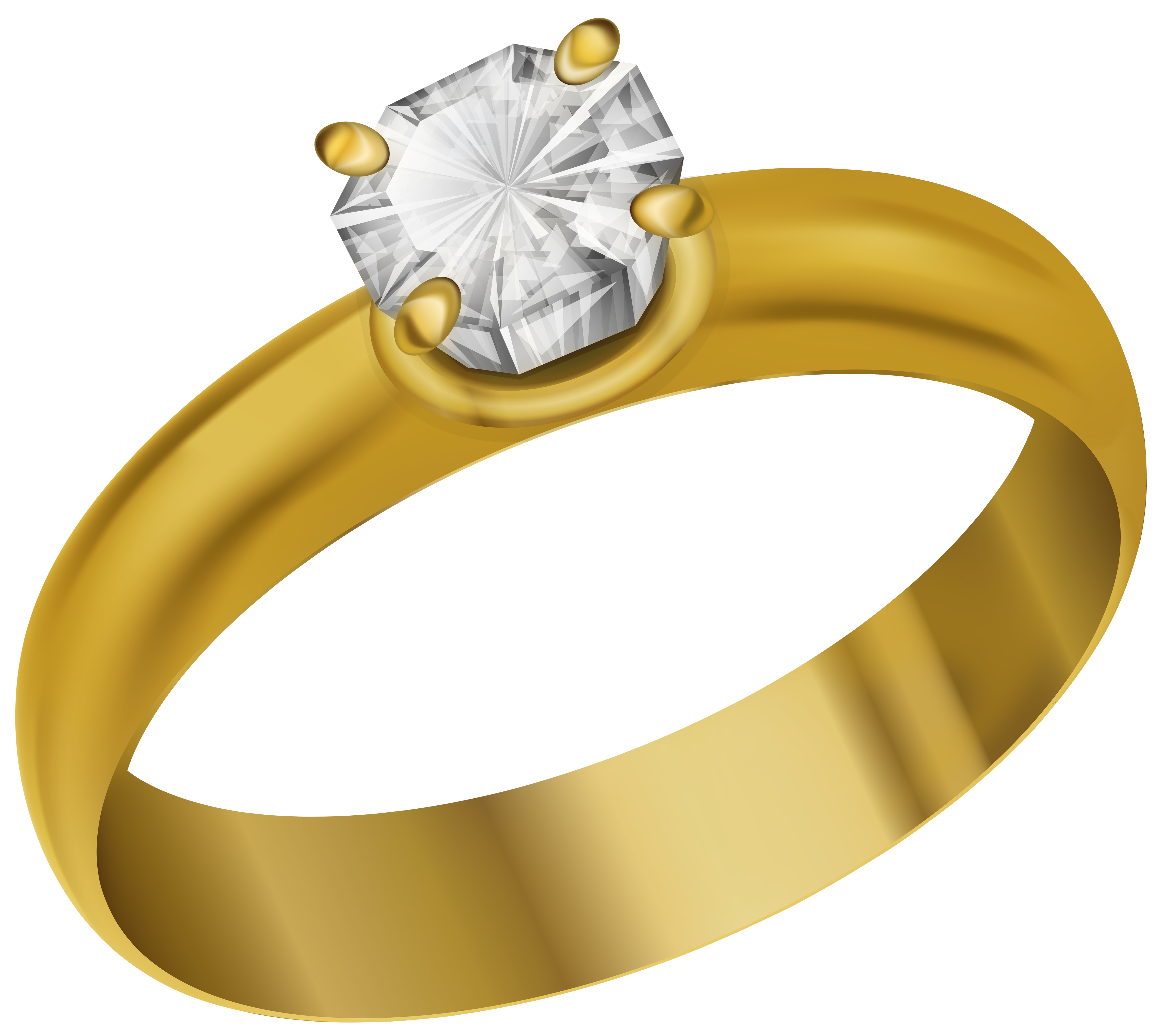 Ring Transparent PNG Clip Art Image.