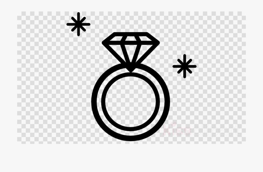 Diamond Ring Clipart Outline.