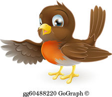 Robin Bird Clip Art.