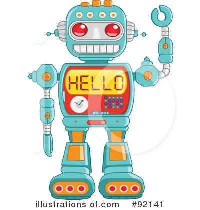 Robot Clipart #92141.