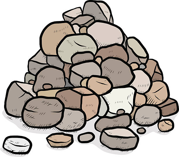 Best Pile Of Rocks Illustrations, Royalty.