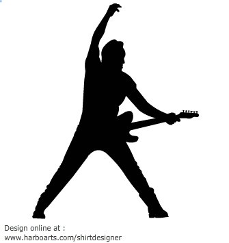 Rock stars clip art clipartfest.