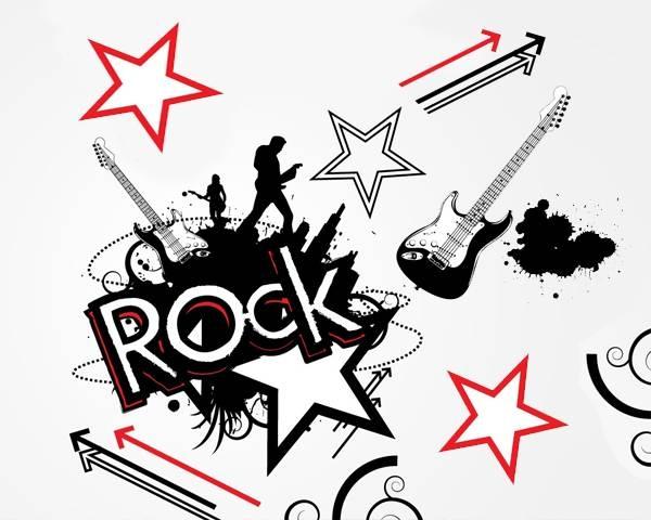 Rock Stars Clipart.