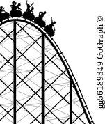 Rollercoaster Clip Art.