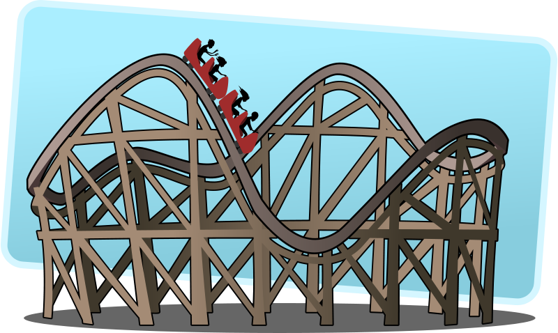 Free Clipart: Roller coaster.