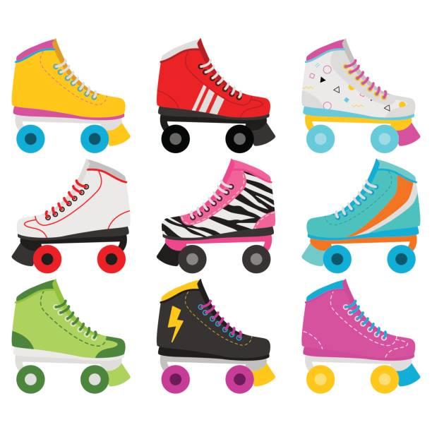 Best Roller Skate Illustrations, Royalty.