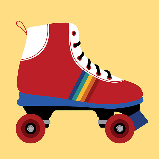 Best Roller Skate Illustrations, Royalty.