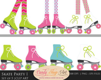 Roller Skating Clipart Group with 66+ items.