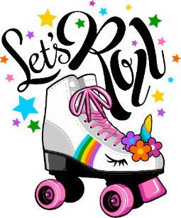 Unicorn Roller Skating Gifts on Zazzle AU.