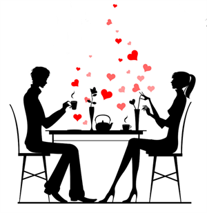 Collection of 14 free Dining clipart romantic dinner date aztec.