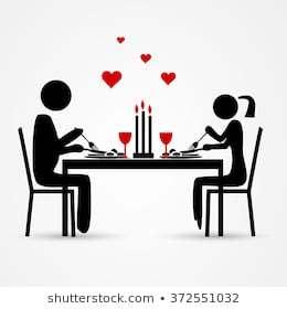 Romantic dinner date clipart 5 » Clipart Portal.