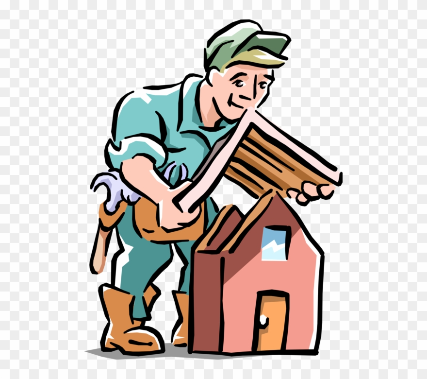Contractor Clipart Home Improvement.
