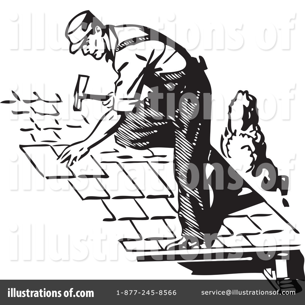 Roofing Clipart #210373.