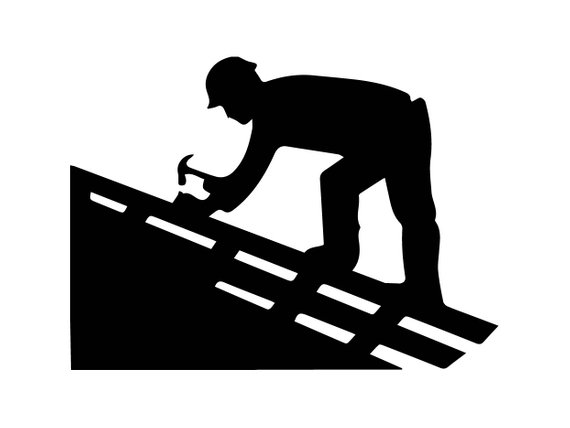Roofing Man Clipart & Free Clip Art Images #21472.