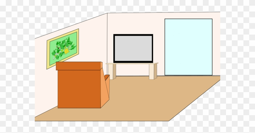 Living Room Clipart Grandmother House.
