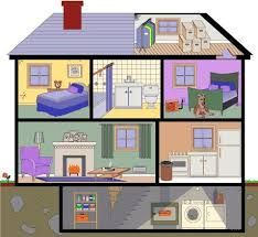 Rooms of a house clipart 1 » Clipart Portal.