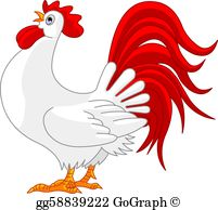 Rooster Clip Art.