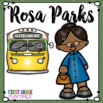 Rosa Parks Black History Month Activities.