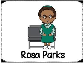 Rosa Parks Clipart & Free Clip Art Images #13929.