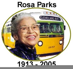Rosa Parks Bus Clipart.