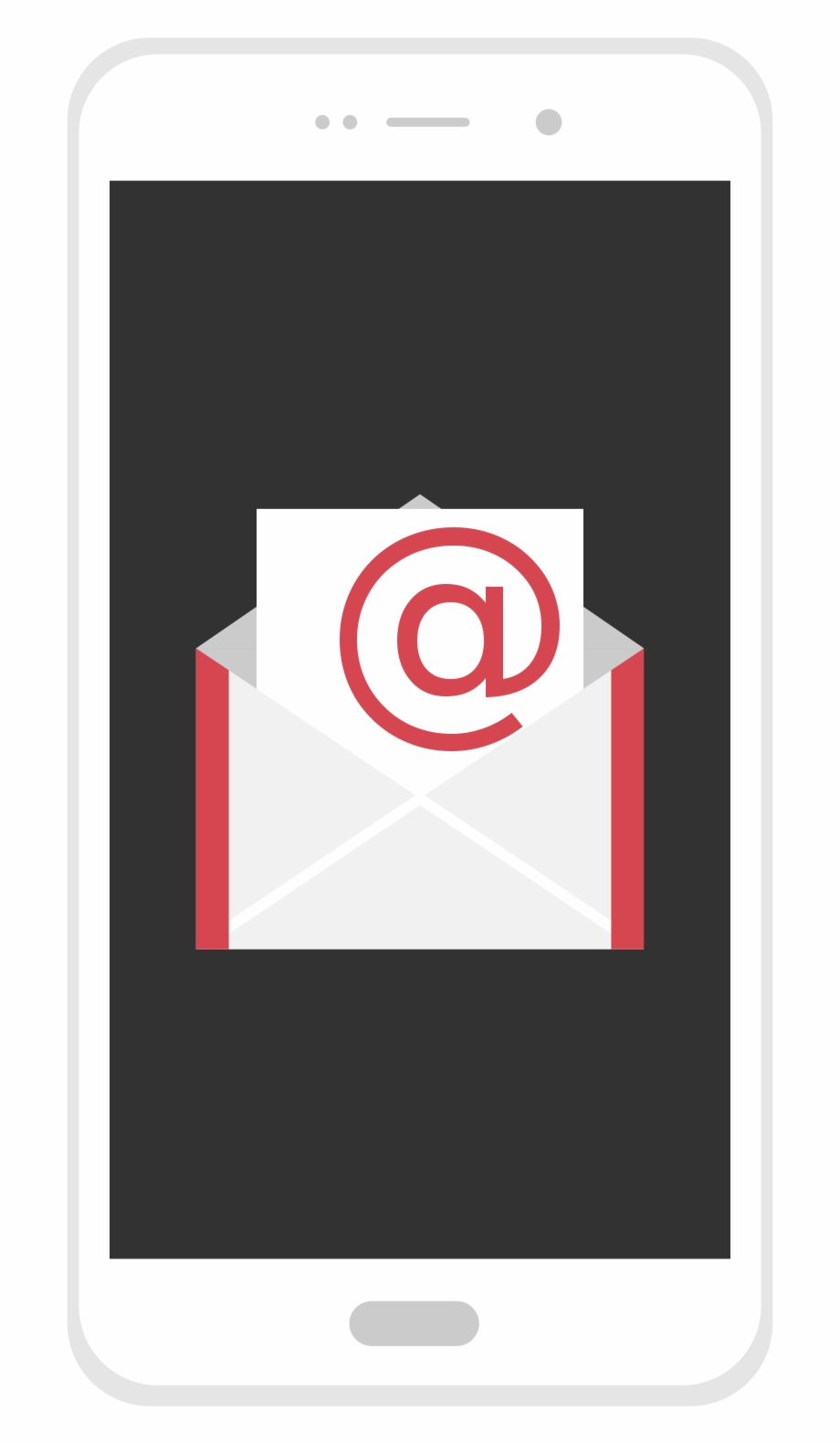 Clip Art Royalty Free Stock File Email On Flat Icon.