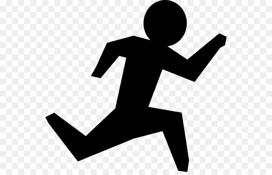 Running Person Clip Art.