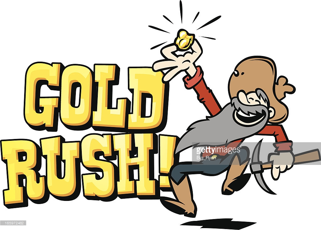 Gold Rush Clipart Group with 58+ items.