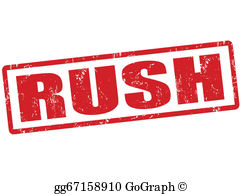 Rush Clip Art.