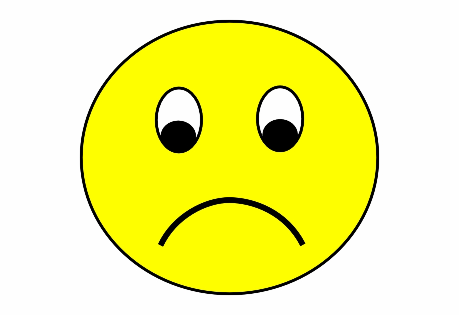 Sad Emoticons Clipart.