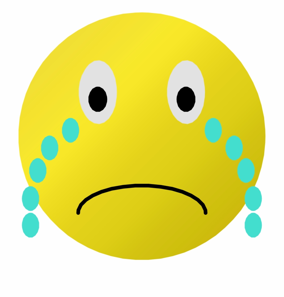 This Free Icons Png Design Of Cry Smiley.