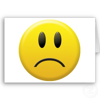 Sad Smiley Face Clipart.