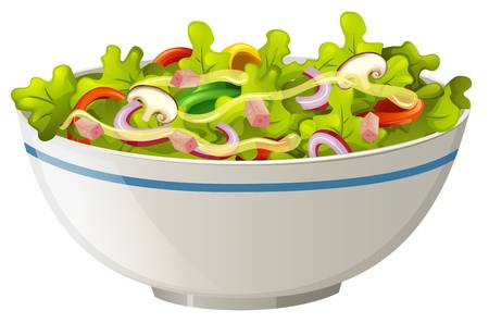 3,387 Salad Bowl Stock Illustrations, Cliparts And Royalty Free.