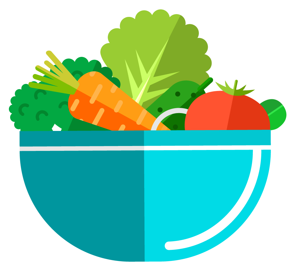 Salad Bowl Clipart.