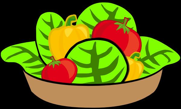 Salad Bowl Cliparts.